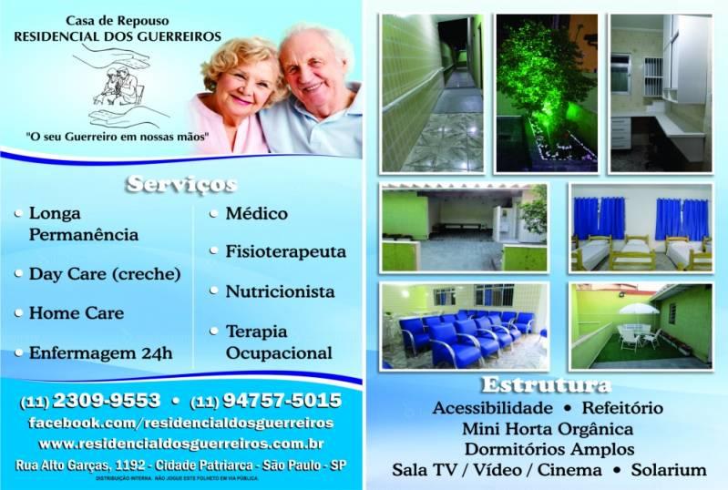 Casa de Repouso de Idosos Preço em Mandaqui - Casa de Repouso com Assistência Médica