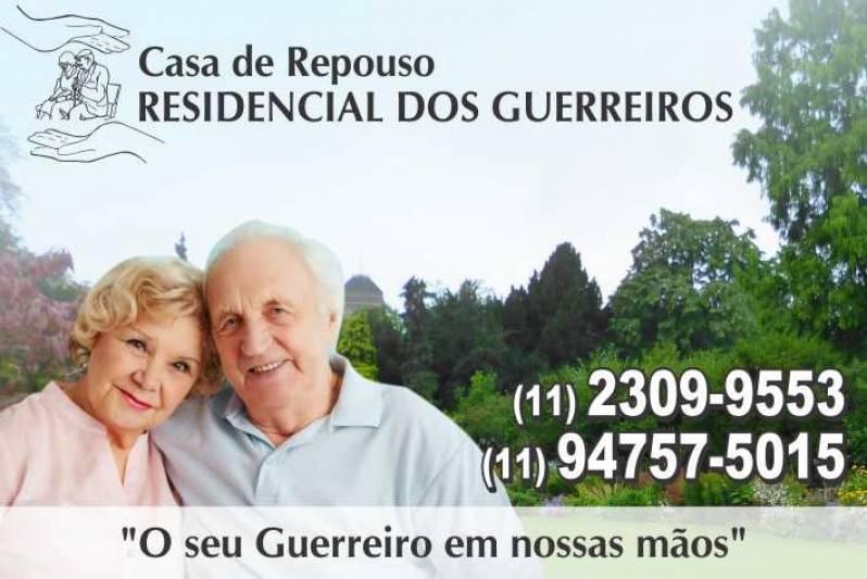 Residencial de Idosos Geriátrica na Vila Medeiros - Residencial de Idosos com Nutricionista