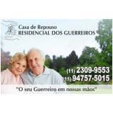 residencial de idosos geriátrica em Parelheiros